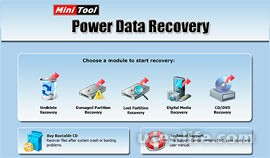 Power Data Recovery — инструмент для восстановления информации