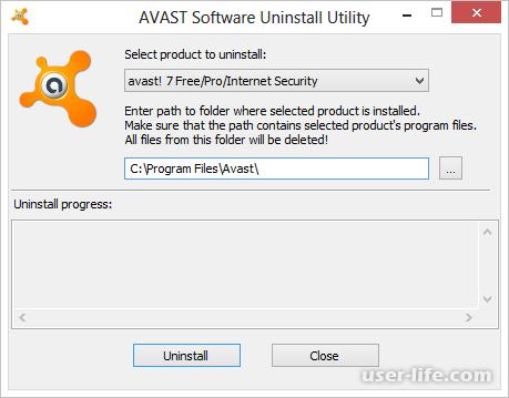 Скачать программу для полного удаления аваст с компьютера