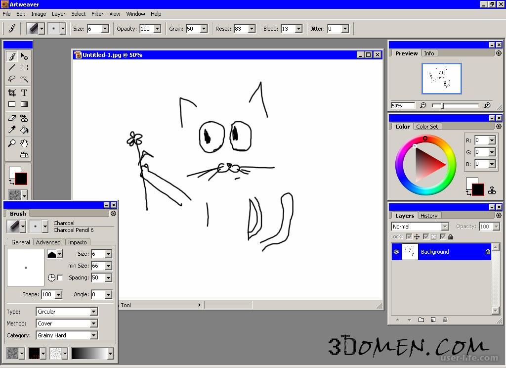 Программу чтобы рисовать открытки