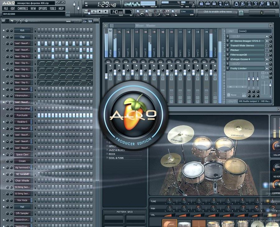 Скачать звуки для дабстепа в fl studio