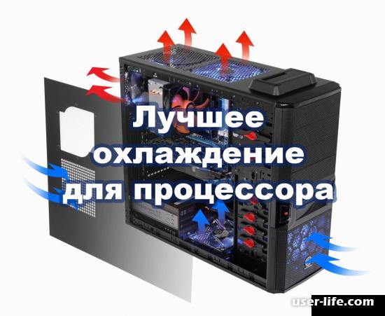 Лучшее охлаждение для процессора компьютера ноутбука Intel Amd