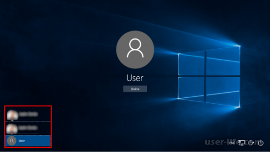 Как выйти из учетной записи Виндовс 7 8 10 фон (Windows)