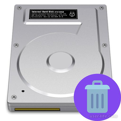 Как удалить разделы жесткого диска
