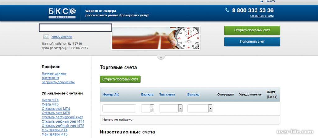 Бкс банк личный кабинет войти онлайн