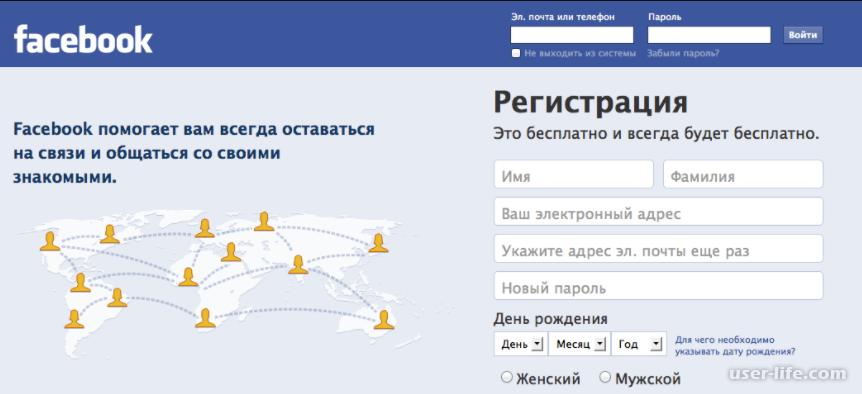 Фейсбук войти моя страница вход на русском языке: входящие