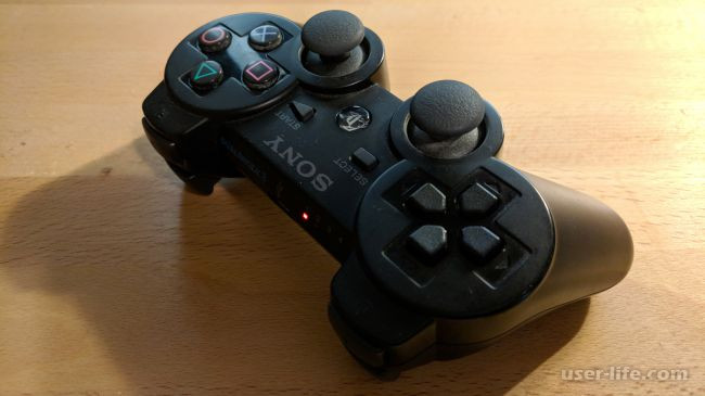 Как подключить джойстик от PS3 к ПК