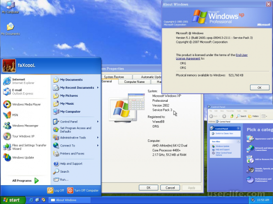 Windows XP Service Pack 3 Sp3  скачать