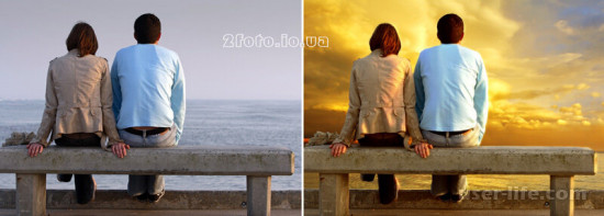 Замена фона на фото онлайн
