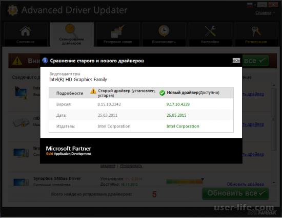 Advanced Driver Updater скачать бесплатно полную версию