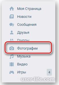 Cкачать альбом фотографий Вконтакте целиком
