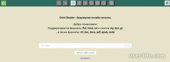 Чтение файлов формата FB2 онлайн