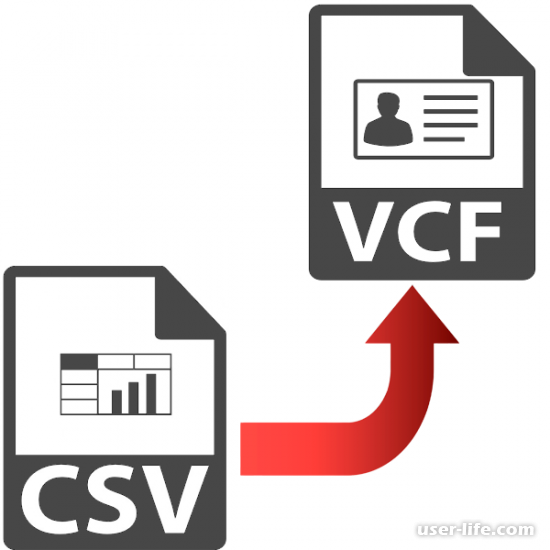 Конвертируем CSV в VCARD