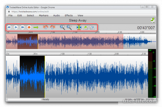 Звуковые редакторы аудио файлов онлайн