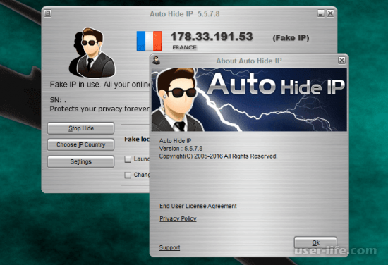 Auto Hide IP (Hidden IP) скачать бесплатно