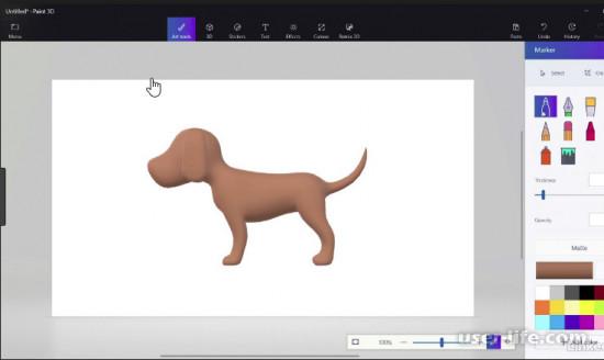 Программа Пэинт 3Д как установить работать рисовать бесплатно для Windows