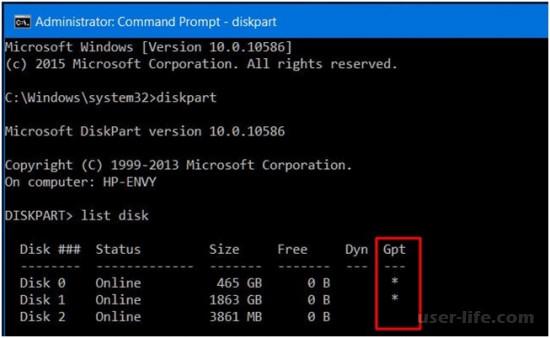 Что такое GPT формат диска