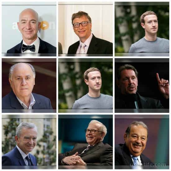Рейтинг самых богатых людей мира список состояний топ журнала Форбс