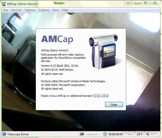Amcap скачать бесплатно русскую версию