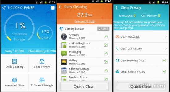 Приложения для очистки телефона Андроид от мусора (программы скачать бесплатно)