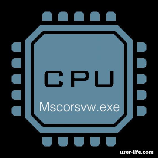 Mscorsvw.exe грузит процессор