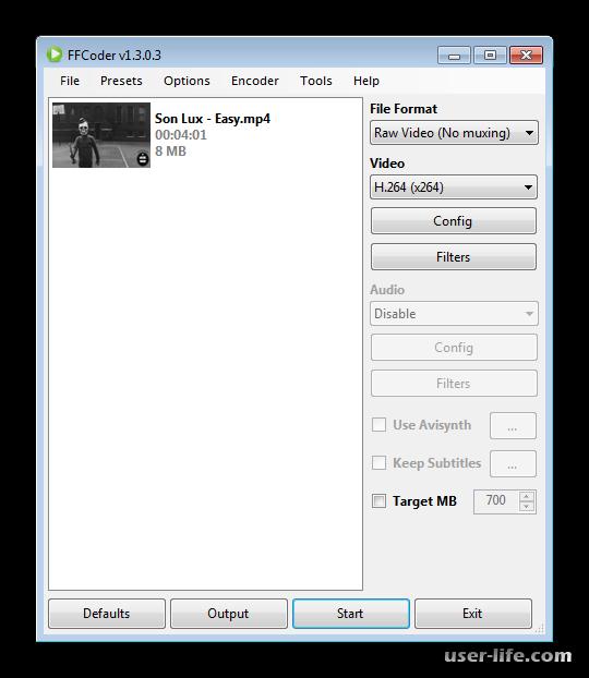 Программы для уменьшения размера видео