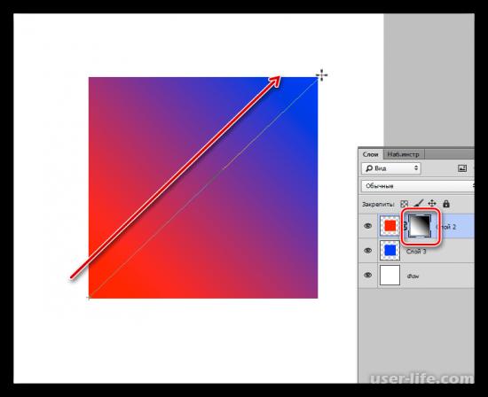 Как сделать плавный переход в Фотошопе