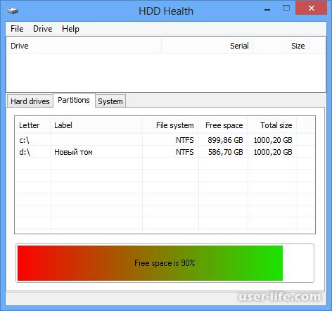 HDD Health как пользоваться скачать на русском с официального сайта