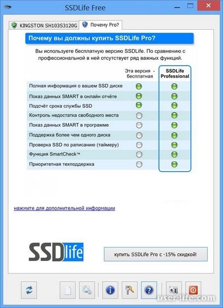 SSDLife настройка скачать бесплатно на русском