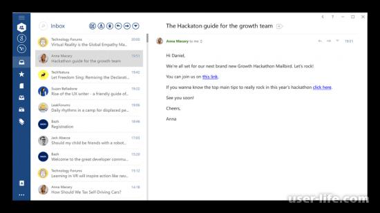 Аналоги Outlook бесплатные альтернативы замены