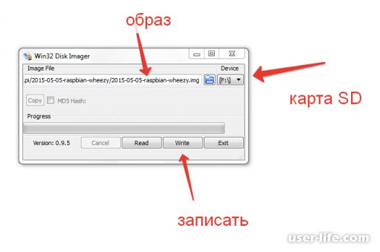 Win32 Disk Imager rus как пользоваться скачать с официального сайта