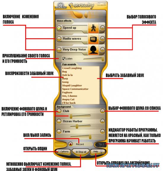 Scramby как пользоваться скачать на русском бесплатно