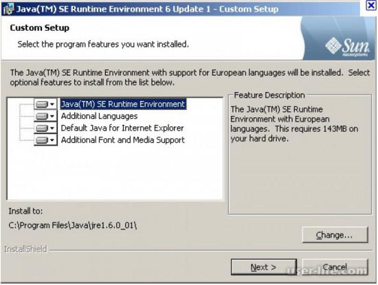 Java Runtime Environment JRE скачать установить обновить для Майнкрафт бесплатно