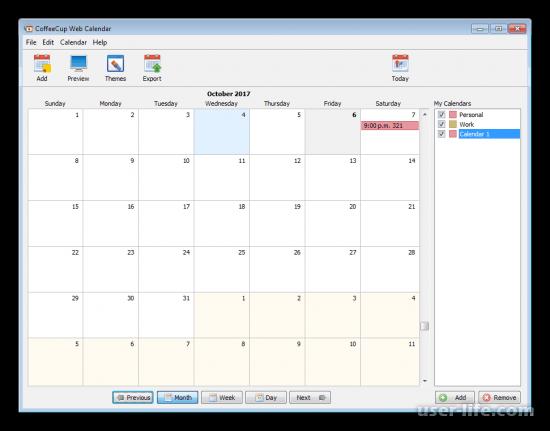 Сделать календарь программы дизайна скачать бесплатно на русском