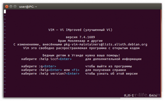 Текстовые редакторы для Linux