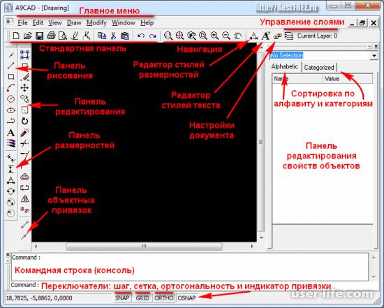 A9CAD руководство скачать бесплатно русскую версию с официального сайта