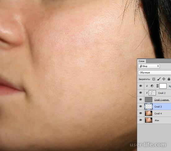Как выровнять цвет лица в Фотошопе