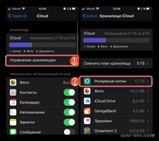 Как удалить резервную копию данных iPhone из iTunes и iCloud