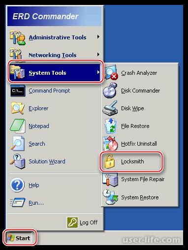 Как сбросить пароль на Windows XP забыл
