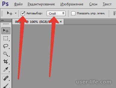 Как выделить слой в Фотошопе