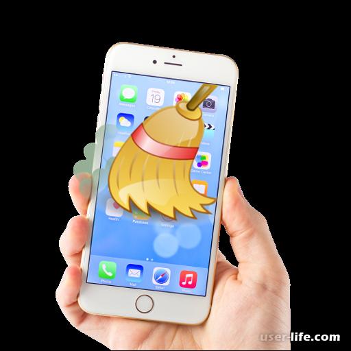 Как удалить приложение с Айфона iOS полностью