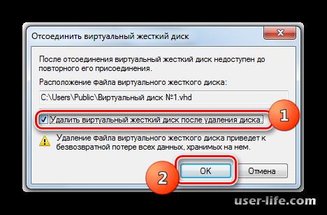 Утилита «Управление дисками» в Windows 7