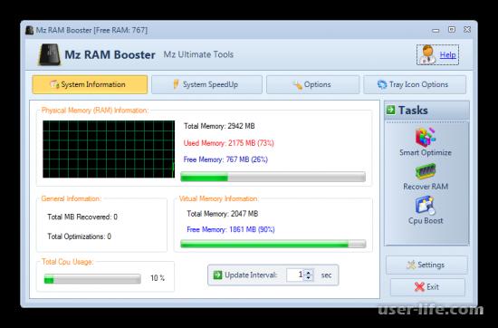 Программы для очистки оперативной памяти