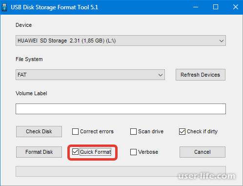 Как восстановить поврежденную флешку USB программами бесплатно