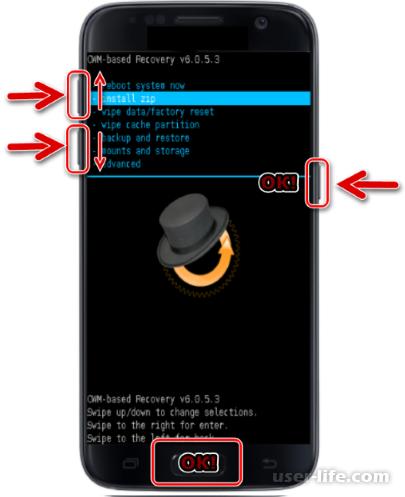 CWM Recovery как скачать установить на Андроид