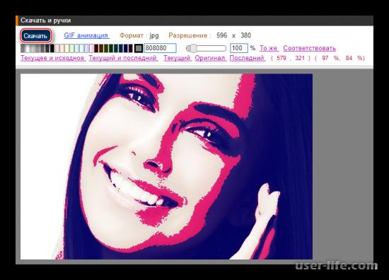 Поп арт онлайн редакторы фото