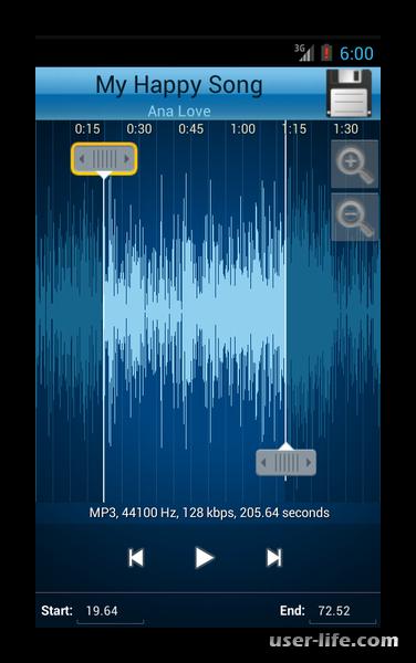 Программы для обрезки музыки на телефон
