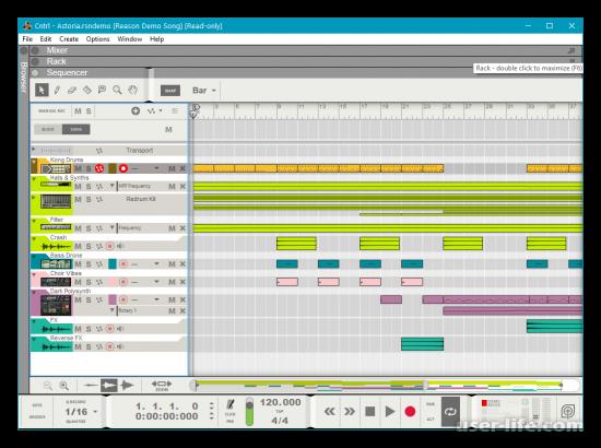Программы для сведения музыки и голоса