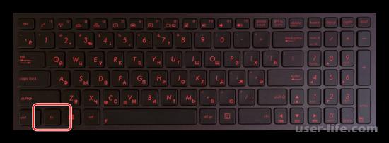 Как включить подсветку клавиатуры на ноутбуке ASUS