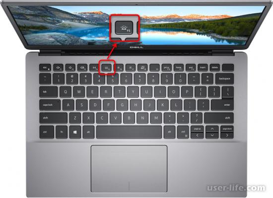 Как включить подсветку клавиатуры на ноутбуке Dell