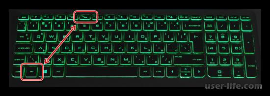 Как включить подсветку клавиатуры на ноутбуке HP